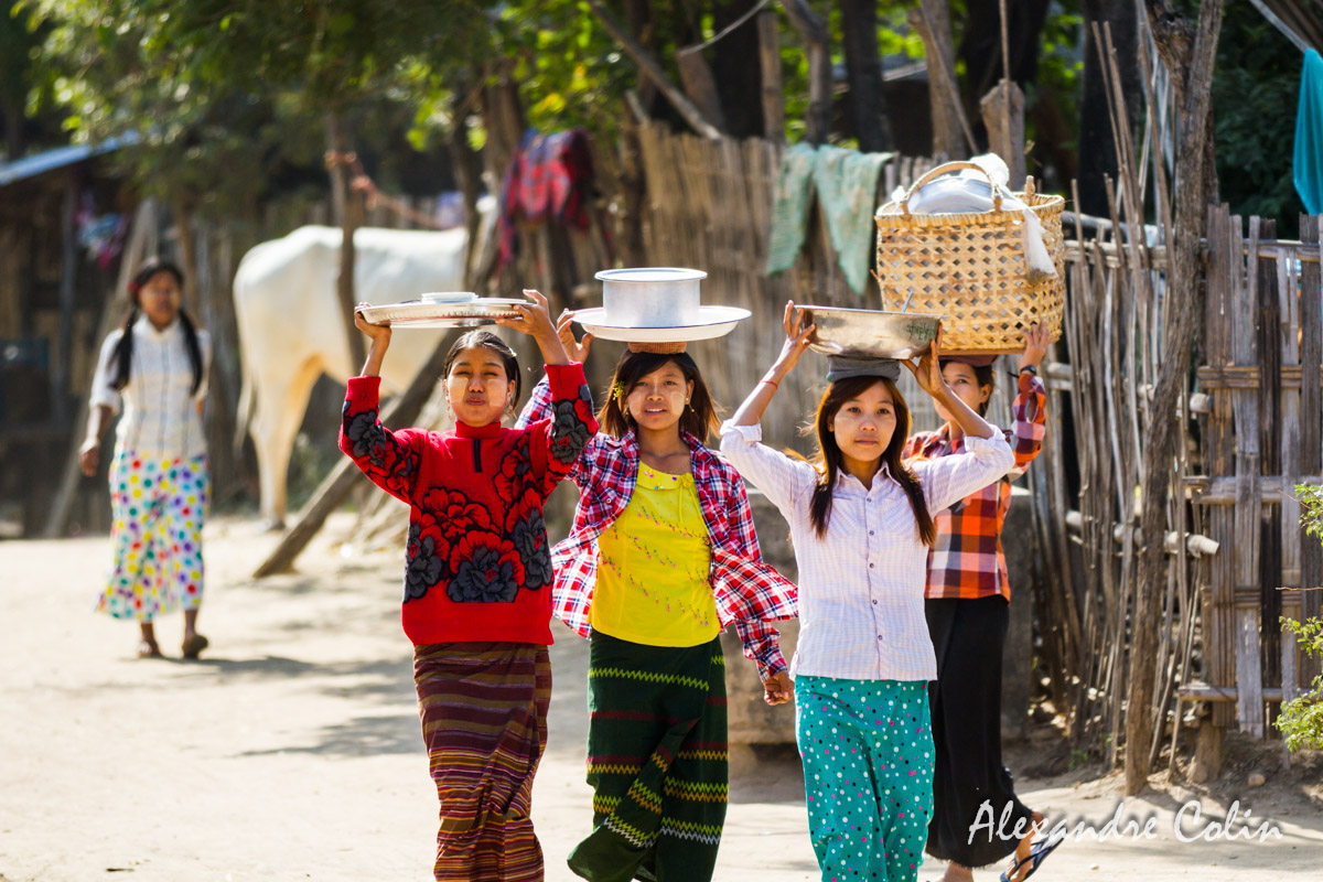 Portraits birmans